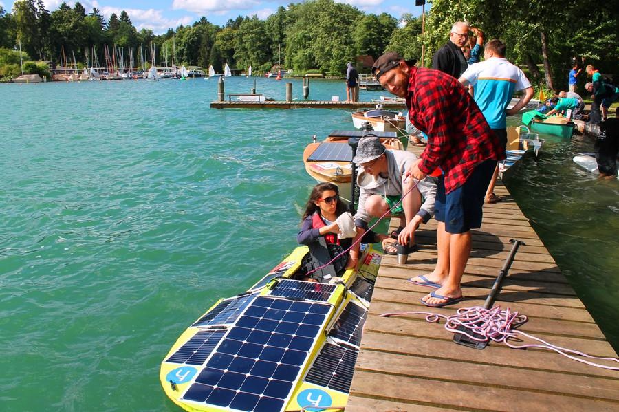 5 российских команд приняли участие в инженерных соревнованиях Solarbootregatta Werbellinsee в Германии
