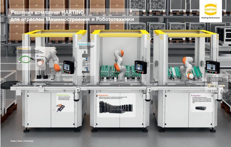 HARTING представит решения для машиностроения и робототехники на выставке «Иннопром — 2018»