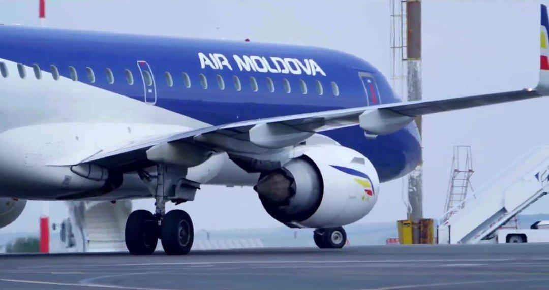 Air Moldova начнет полеты Кишинев-Киев с 1 августа