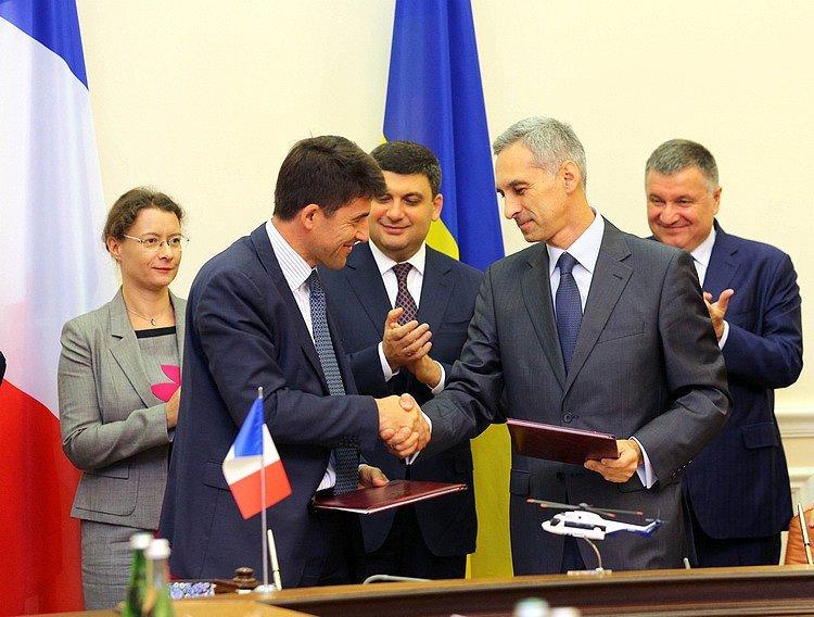 Из Франции в Украину поступит 55 вертолетов для системы авиабезопасности МВД