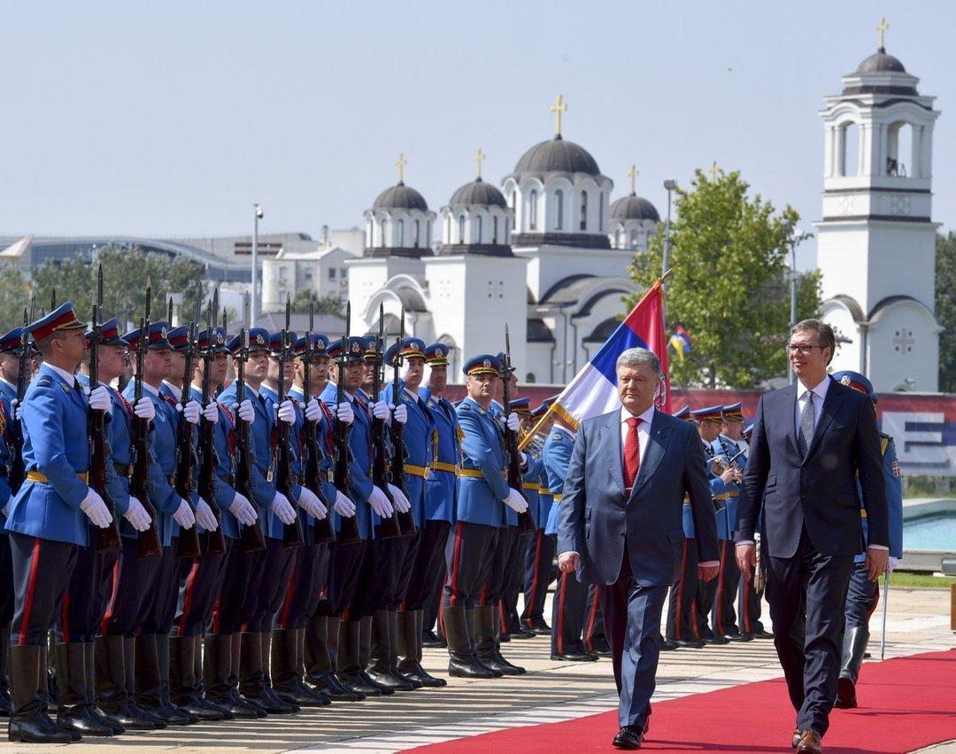Украинцы смогут находиться в Сербии дольше