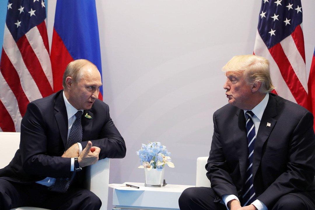 В Хельсинки проходят акции протеста в предверии саммита Россия-США