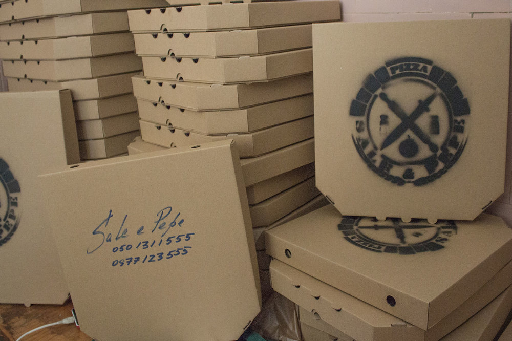 Як ветерани АТО відкрили власний бізнес з доставки піци
