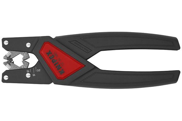 Новый KNIPEX для удаления оболочки с многожильного кабеля, имеющего неравномерное сечение оболочки