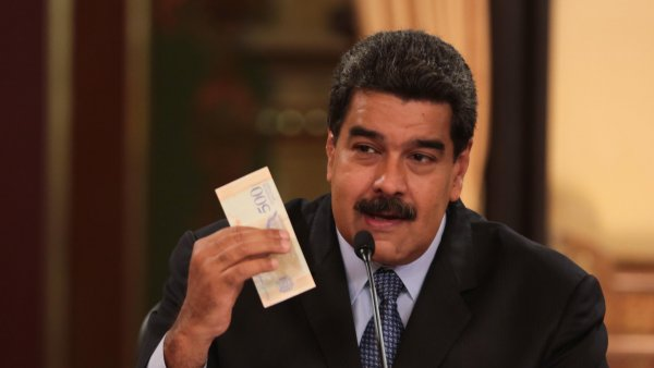 Мадуро повысит в Венесуэле зарплаты в 60 раз