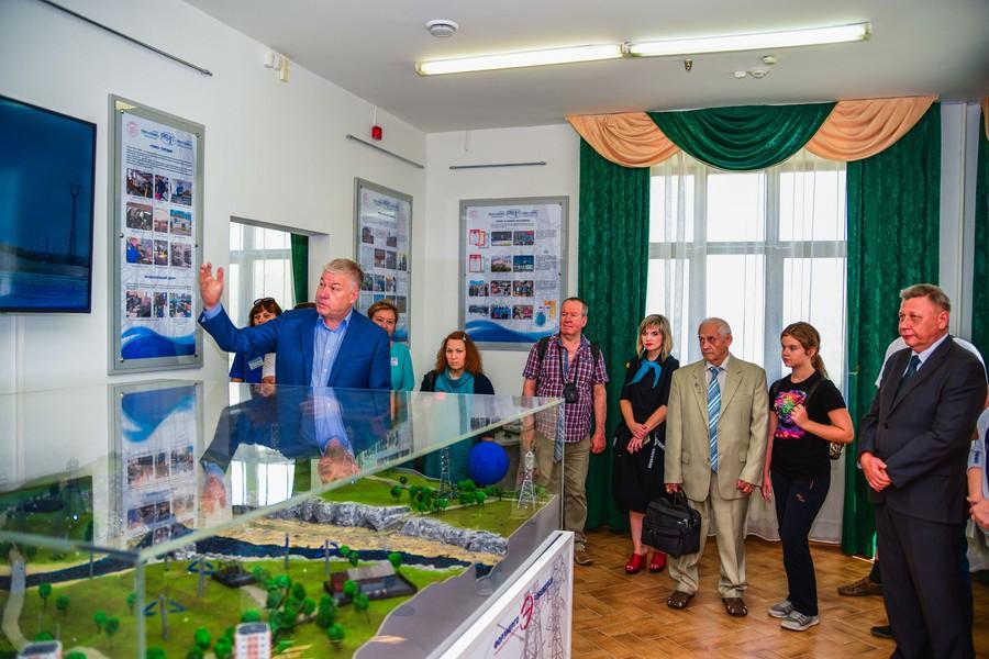Открытие экспозиции ПО «Форэнерго» в городском музее Чкаловска