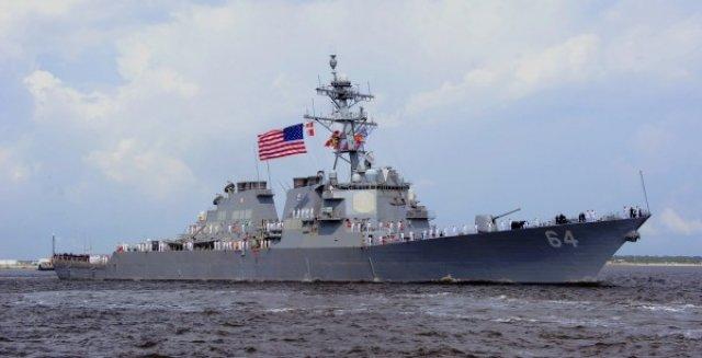 Эсминец США USS Carney зашел в Черное море