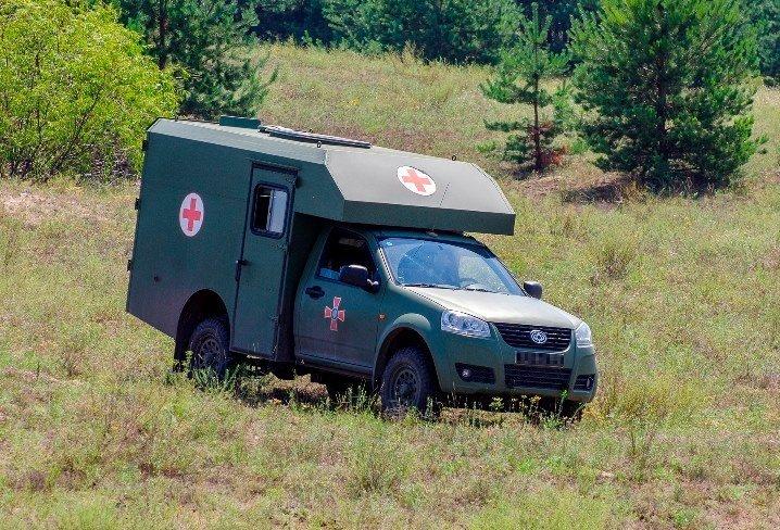 """Каждая четвертая санитарная машина в армии — """"Богдан-2251"""""""