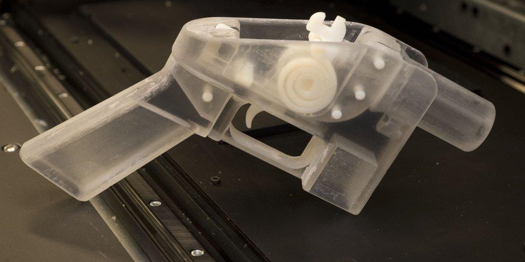В США запретили публикацию чертежей для печати оружия на 3D-принтере