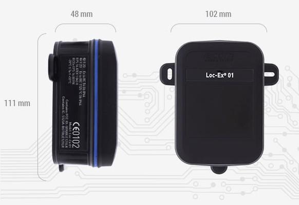 Bluetooth маячок Loc-Ex® 01 для взрывоопасных зон класса 1/21 группы I