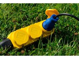 IEK предствил каучуковые разъемы «ОМЕГА» в ярких цветовых решениях