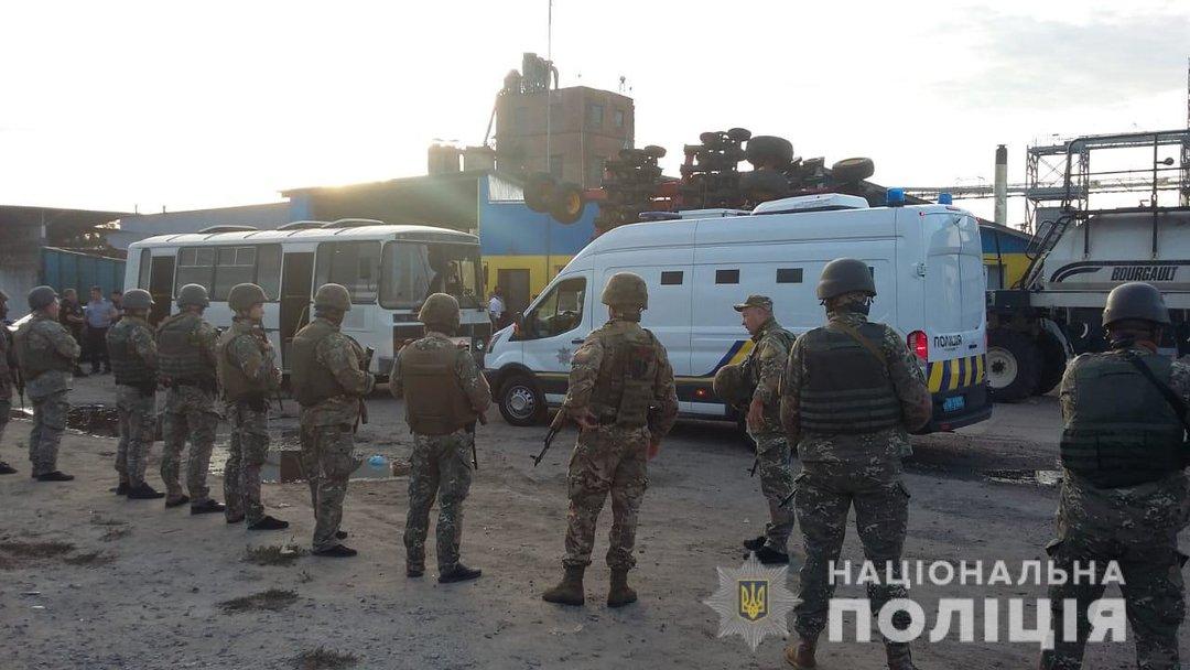 Полиция задержала организатора рейдерского захвата элеватора в Харьковской области