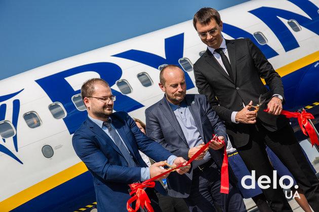 """""""На Берлин"""" по-ирландски: как принимали и отправляли первый рейс Ryanair в """"Борисполе"""""""