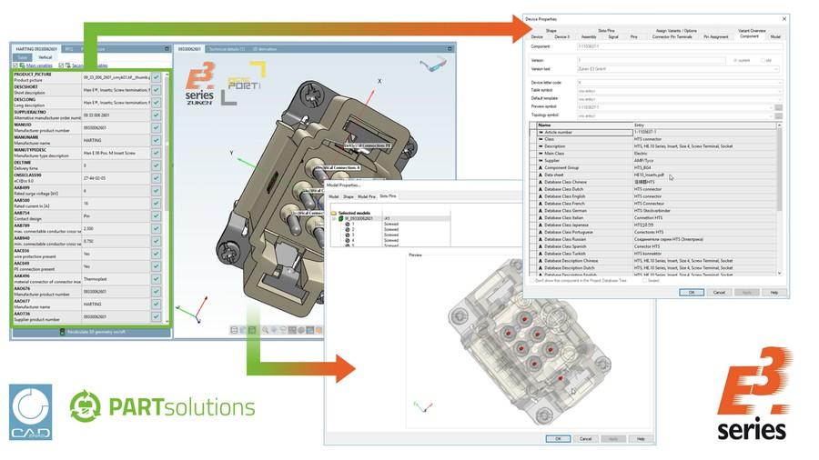 HARTING — первый производитель предоставляющий информацию онлайн-библиотеки для пользователей ECAD