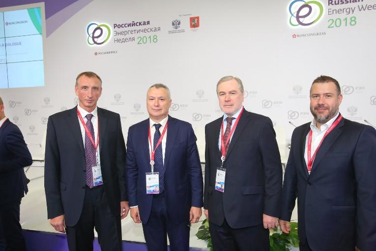 Деловые встречи на Российской энергетической неделе 2018
