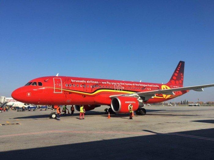 Brussels Airlines совершили первый рейс в Киев