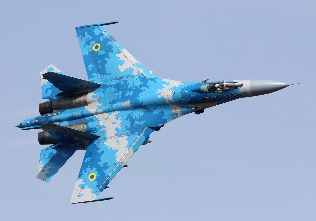 Во время учебно-боевого полета упал самолет Су-27 — Генштаб ВСУ