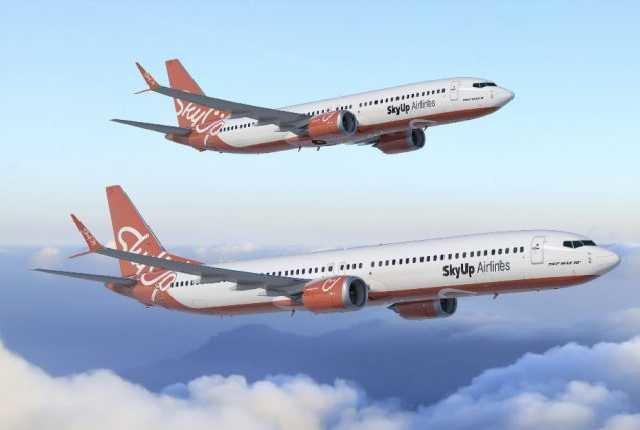 SkyUp запустил продажи билетов от 30 евро на первые международные рейсы