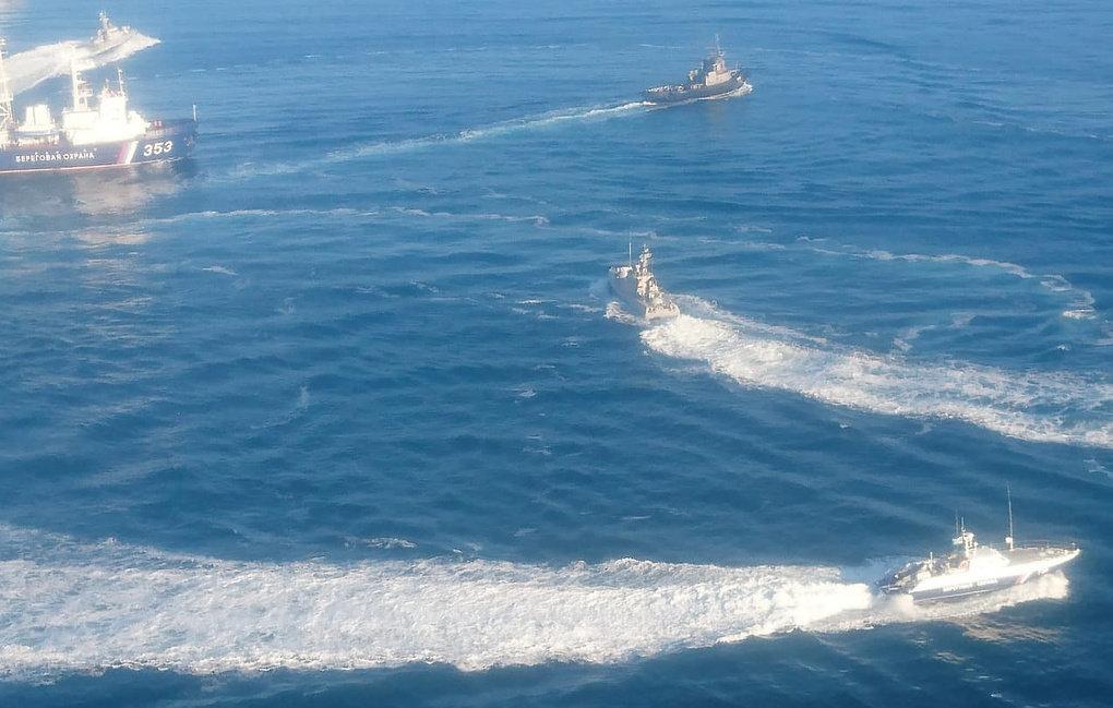 ЧП на Азове: Россия закрыла движение по Керченскому проливу, МИД Украины ждет реакции мира