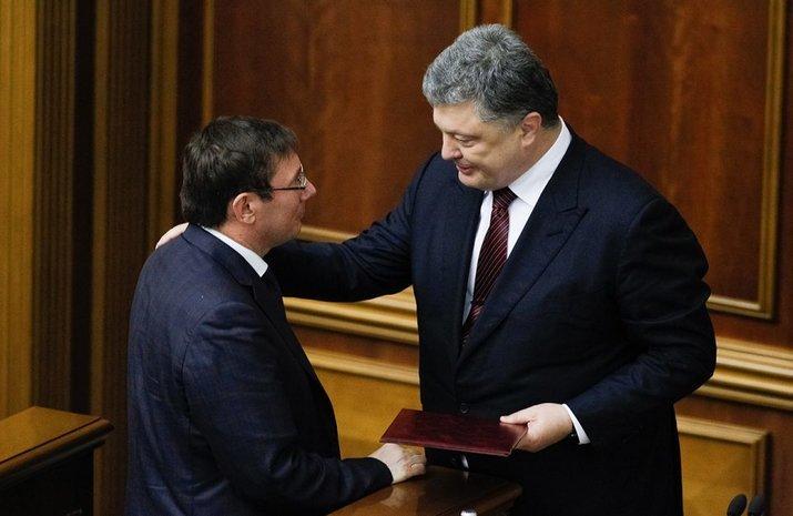 Порошенко отказался уволить генпрокурора Луценко