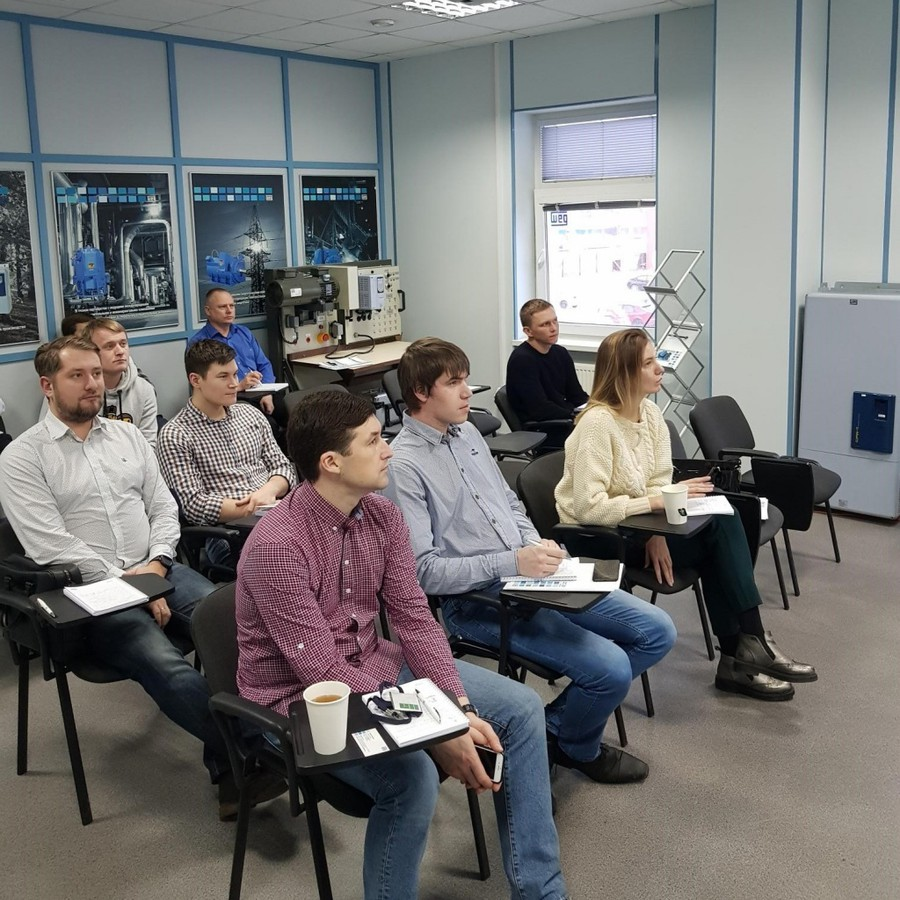 Специалисты «Электродвигатель» прошли базовую программу обучения WEG