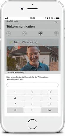 Компания Gira представляет новое мобильное приложение Gira DCS Mobil