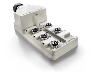 Вставной блок распределения питания для цепей напряжением 24В постоянного тока от Weidmüller