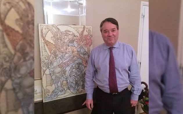 Константин Скопцов — выставка в Одессе: сокровища символического искусства