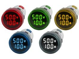 Новинка! Цифровые индикаторы тока и напряжения Omix R30-AV