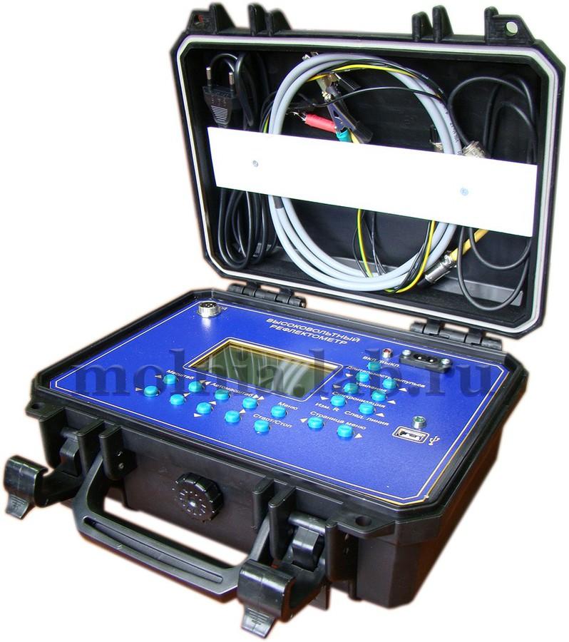 На смену снятому с производства рефлектометру высоковольтному осциллографическому «ИСКРА-3М» пришел прибор нового нового поколения — «ИСКРА-4»