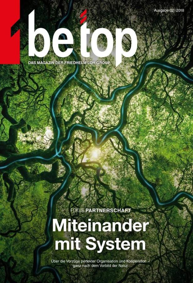 Новый номер корпоративного журнала be top — теперь в формате интернет-журнала