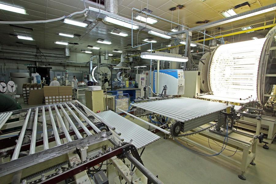 «ЛЕДВАНС» завершил реализацию инвестиционного проекта по перевооружению стекловаренной печи на заводе в Смоленске