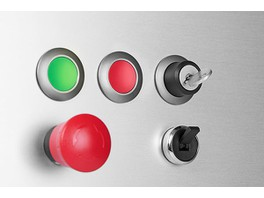Новые промышленные кнопки от EAO AG теперь доступны в каталоге компании «НТ контакт»