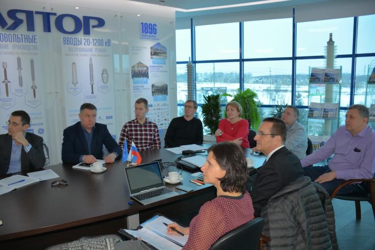 Презентация новых технологий немецкой компании Maschinenfabrik Reinhausen GmbH на «Изоляторе»