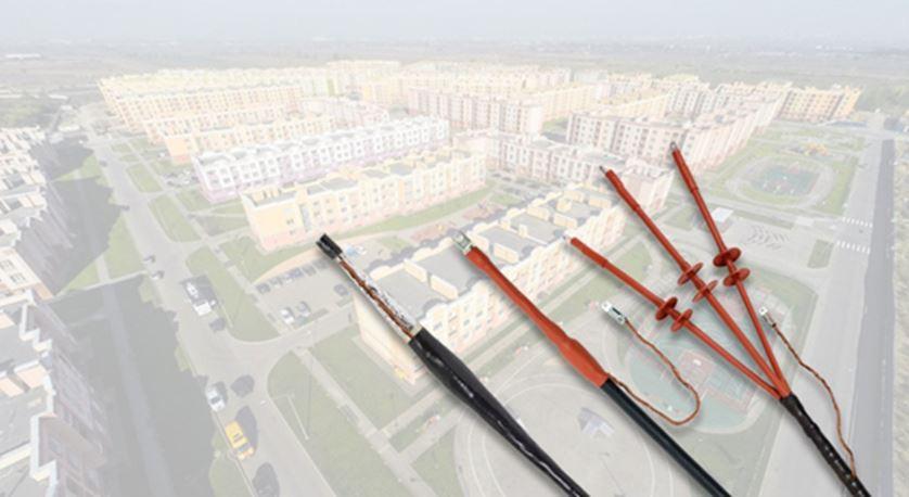 Муфты для кабеля с изоляцией из сшитого полиэтилена напряжением до 10 кВ