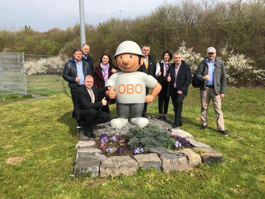Уралэнерго на заводе OBO Вettermann group в Германии
