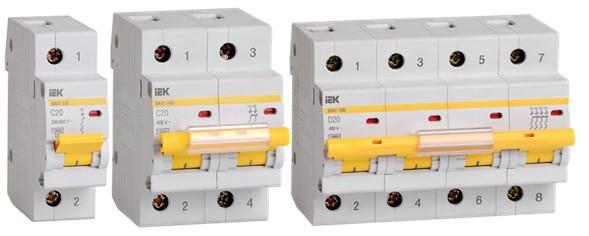 IEK GROUP расширяет ассортимент автоматических выключателей ВА47-100 на 20А IEK®