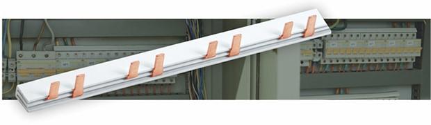 Новинка IEK® — шина соединительная для дифференциальных автоматических выключателей серии АД12 IEK®