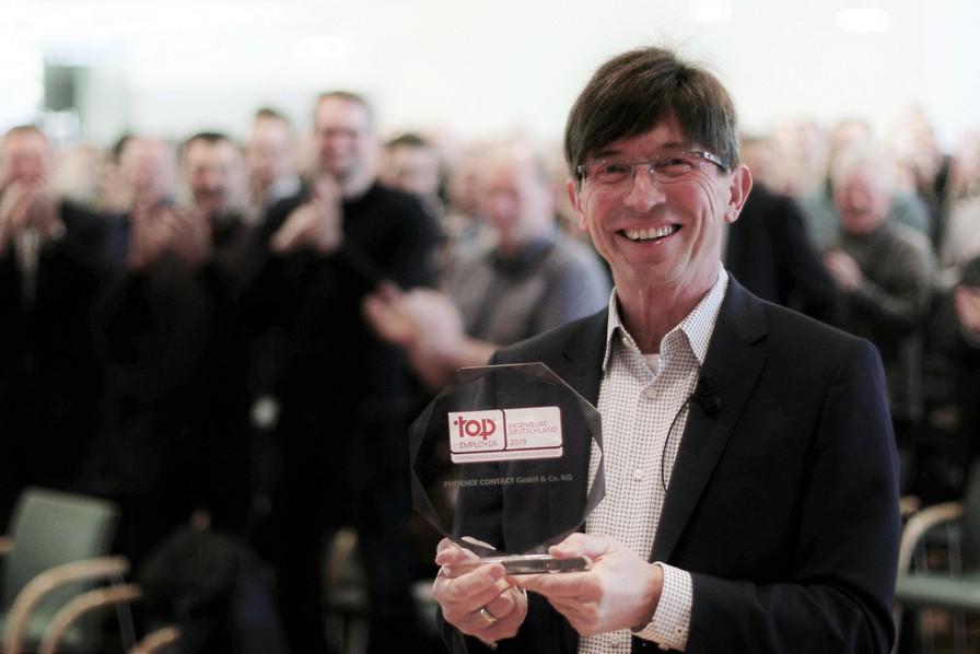 Лучший работодатель для инженеров: награждение Phoenix Contact премией подтверждает ориентацию компании на сотрудников