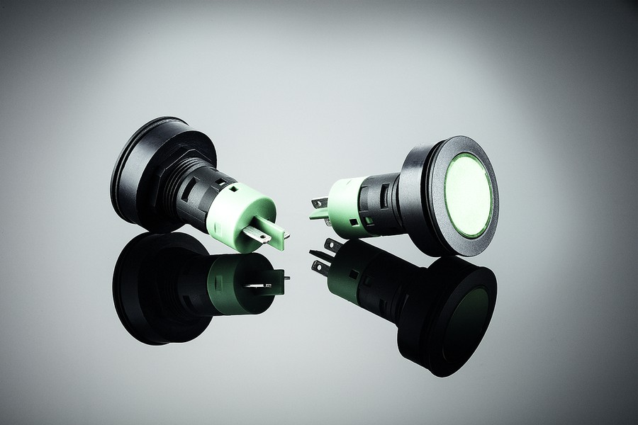 Популярная линейка кнопок Rontron-R-Juwel от компании Schlegel Elektrokontakt пополнилась двумя моделями