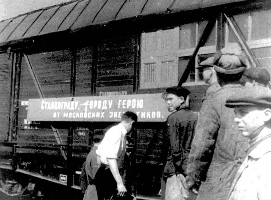Поезд был отправлен в Сталинград, располагая 750-ти кВт силовой установкой