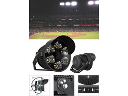 Новые модели светодиодных прожекторов «Юнилайт» для спортивных объектов серии GL-SPL