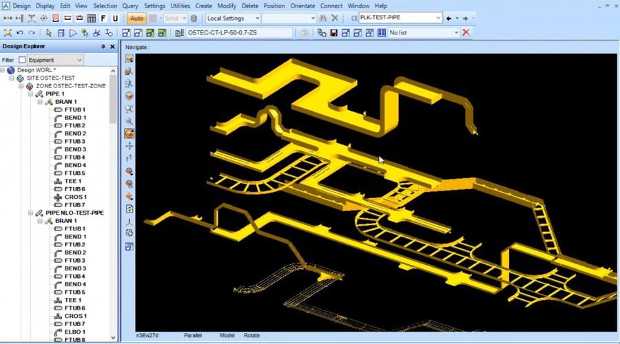 Ostec завершил работу по созданию баз данных и приложения для среды проектирования AVEVA PDMS и AVEVA E3D