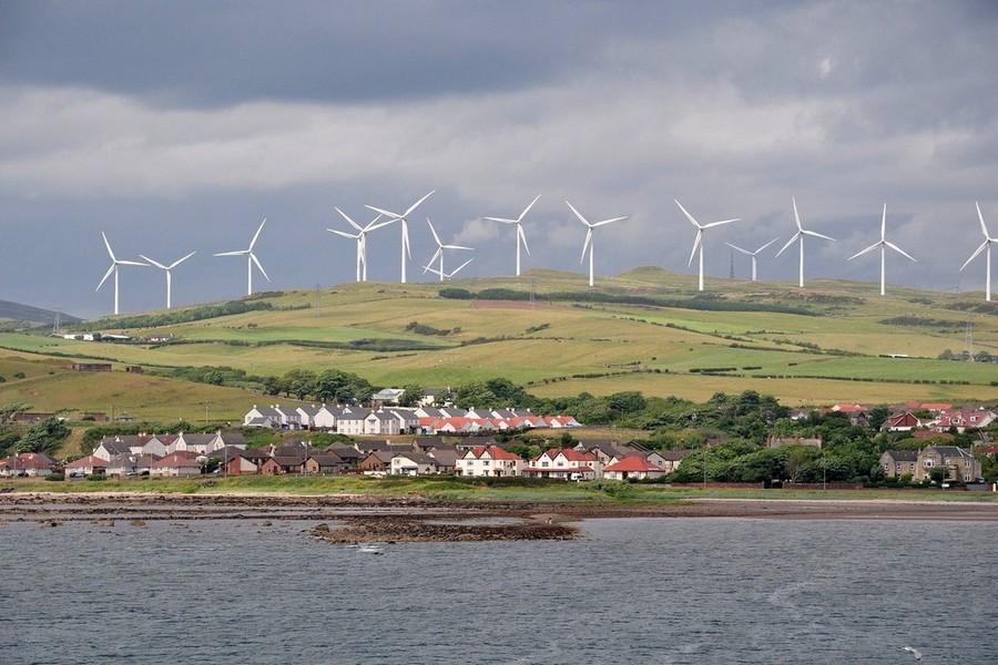 Шотландия переходит на «зелень»