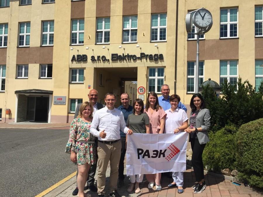 Поездка представителей РАЭК на завод ABB в Чехию
