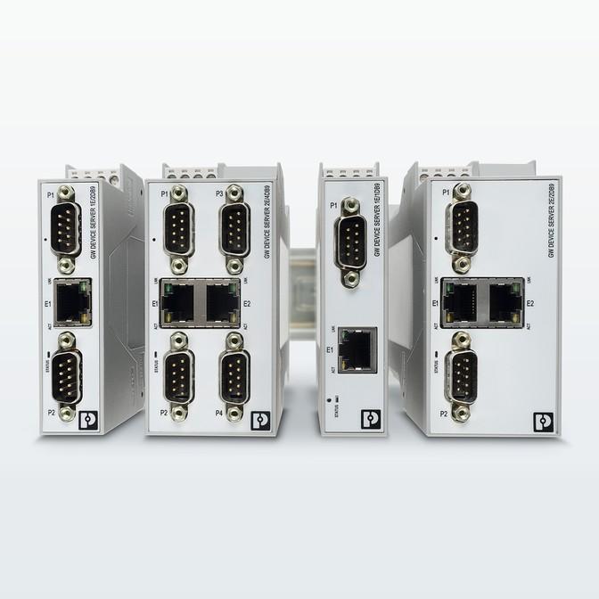 Новые шлюзы для Modbus в Ethernet/IP от Phoenix Contact