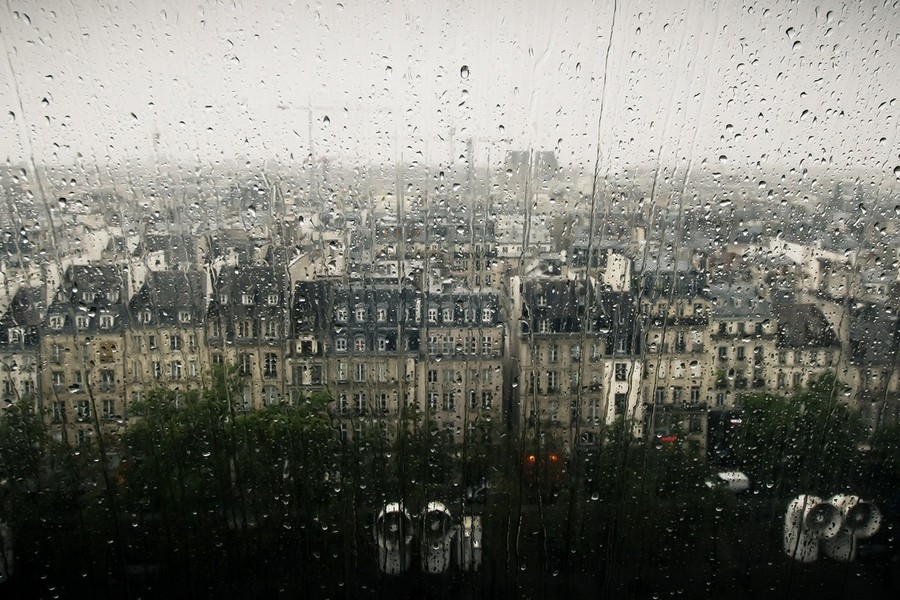Обычная погода в Нормандии