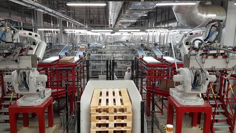 Цифровые роботизированные решения ABB на заводе Unilever в России