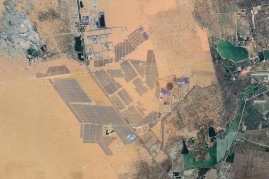Солнечный парк Тэнгэр