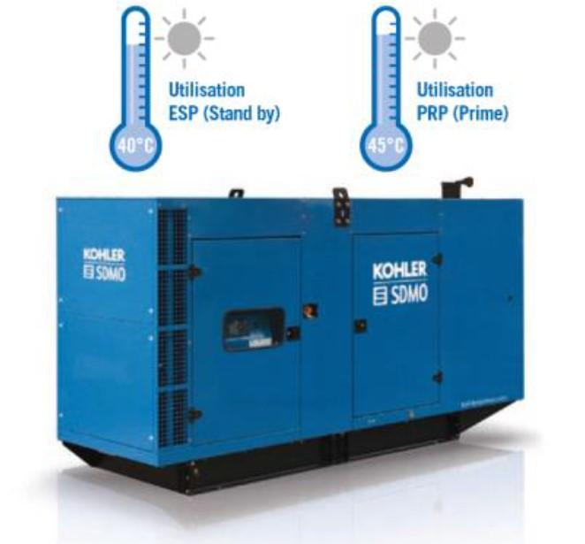 Новая система охлаждения в ДГУ KOHLER-SDMO V550C2 линейки Atlantic